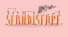Scandiscope - bradwoodarddesign #illustration #design #typography