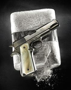 gun cocaine