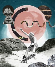 Collages on the Behance Network #cullell #photoshop #vintage #collage #sergio