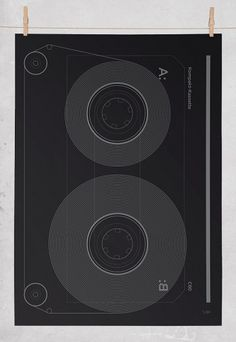Editions of 100 — KOMPAKT-KASSETTE #design #illustration #poster