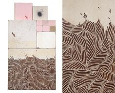 alex kopps | Design*Sponge #tiles #doodle #surf