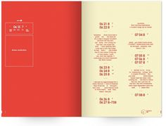 UW Design Show 2011 | Sophie Milton #pages #dream #book #publication #typography