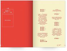 UW Design Show 2011 | Sophie Milton #pages #dream #book #publication #typography