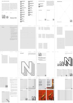 The Layers of Past, Present, Future #e-types #grid #identity #museet #logo #layout #national #editorial