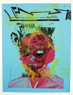 #screenprint #psychedelic #poster