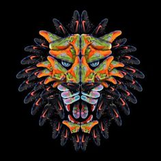 Nike Lebron 12 Lion by Andy Gellenberg #photo #lion #head #shoe #advertising #nike #illustration #photoshop #sneaker #collage