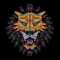 Nike Lebron 12 Lion by Andy Gellenberg