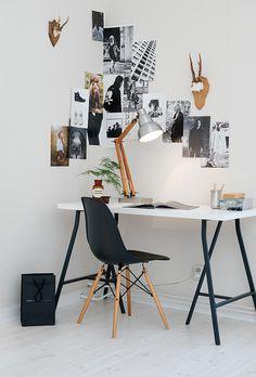 Black & Tan Desk