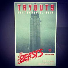 Poster and logo design by Lauren Kane (spillyrhead.tumblr.com) #print #design #poster #york #new