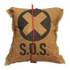 Fab.com | Emergency Pouch #emergency #pouch #yellow #black #bag #waxed