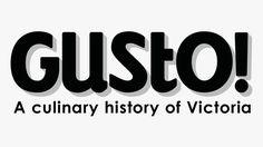 logo #branding #design #graphic #type #food #exhibition #gusto #logo #3d #typography