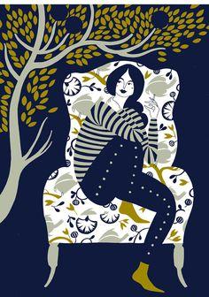 Karolin Schnoor #illustration #girl