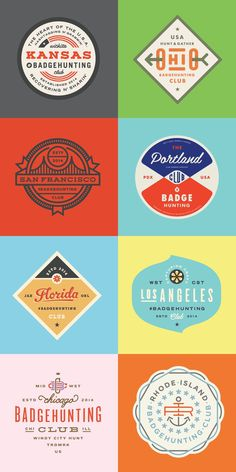 Badges - Allan Peters