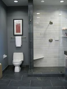 What's the Best Tile Layout For My Bathroom?: Straight or Staggered? | Apartment Therapy #bathroom