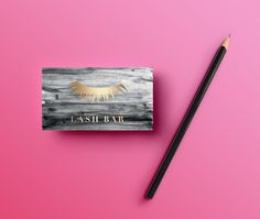 lightpink-card #business #modern #card #design #gold #watercolor #cards #foil #typography
