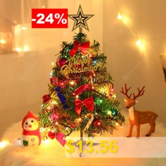 50CM #Christmas #Tree #Set #with #Light #String #( #without #Battery #) #- #MULTI-A