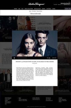 Salvatore Ferragamo 2012 #fashion #design #website #web