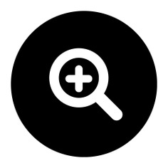 See more icon inspiration related to magnifying glass, zoom in, loupe, multimedia, ui, lens, interface and Tools and utensils on Flaticon.