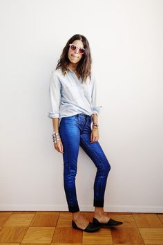 Leandra Medine, The Man Repeller. #fashion #women