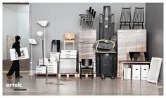 Artek: Shipping | Ads of the World™ #advertisement #furniture #finland #artek