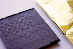Citizens Dark Chocolate on the Behance Network #pattern #packaging #food #laser #chocolate #block #gold #dark #foil