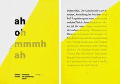 Georg Staehelin #brochure #print #poster