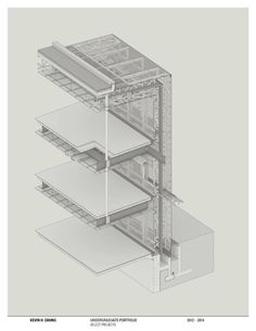S // A #isometric #architecture #section #cad #drawing