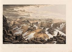 From Eugène von Guérard's Australian landscapes: a series of 24 tinted lithographs illustrative of the most striking and picturesque fea