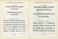 I think this type specimen shows Monotype's Janson revival. #type #specimen #typography