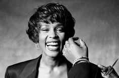 Norman Seeff - Whitney Houston - Photos - Social Photographer's Portfolios #inspiration #photography #portrait