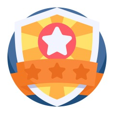See more icon inspiration related to shield, police officer, sports and competition, emblem, badge, protect, protection, police, secure, save and security on Flaticon.