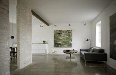 Minimalist living room #interior #house #modern #rustic #architecture #studio #art #paintings #artist