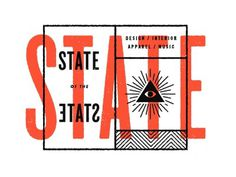 Dribbble - State of the State 2 by Nick Brue #type #lettering #brue #nick