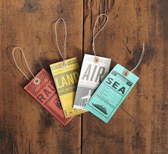 two arms luggage tags 1