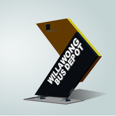 Wayfinding | Signage | Sign | Design | 休息站标识牌