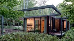 desire to inspire - desiretoinspire.net - If you go down to the woods today ... #architecture #house