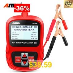 ANCEL #BST200 #Car #Battery #Tester #12V #Car #Battery #Tool