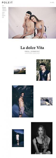 POLEIT Swimwear - Mindsparkle Mag - POLEIT is a menswear swimwear fashion brand based in Vienna whose beautiful website is awarded as site o