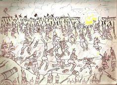 battleofborodino.jpg (982×714) #war #napoleon