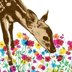 coqueterías - (via loveyourchaos) #artwork #illustration #bambi