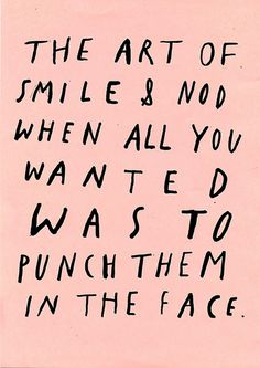 "this isn't happinessâ""¢ Peteski #in #face #punch"