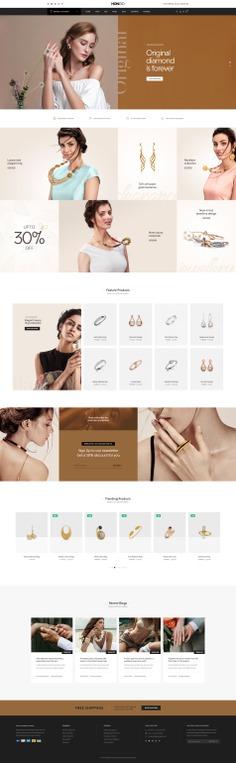 #Hongo #WooCommerce #WordPress Theme for #Jewellery by #ThemeZaa