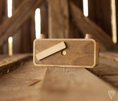 ONDU Pinhole Cameras #camera #design #product #wood #craft