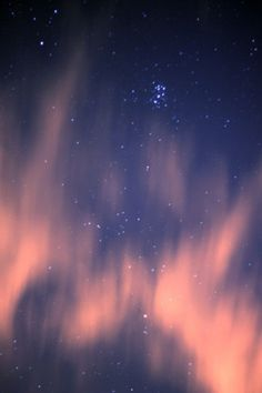 I S A #aurora #sky #lights #night #stars #constellations