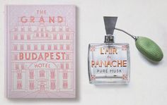 The Grand Budapest hotel graphics via www.mr-cup.com #typography #budapest