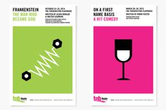 Theatre New Brunswick Posters #illustration #posters #theatre