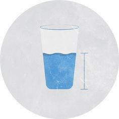 Glass Half-Full - Noah Mooney Design #vintage #minimalism