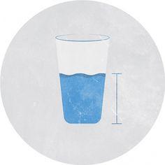 Glass Half-Full - Noah Mooney Design #vintage #minimalism