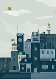 xc2xa9 Local View on Behance #illustrations