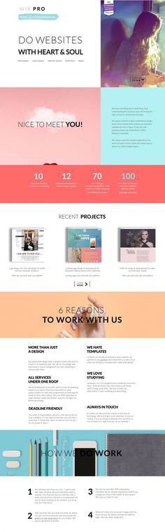 WIX PRO - Mindsparkle Mag - Wix Pro is a professional design studio which makes creative and beautiful websites and fancy logos. Finally the